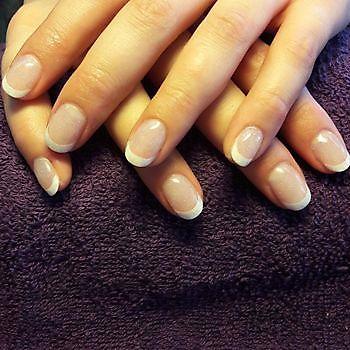 French manicure Mirjam's Nagelstudio Beerta